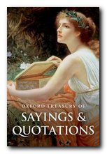 Treasury of Sayings and Quotations