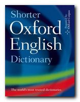 How to choose a dictionary - New Shorter Oxford Dictionary
