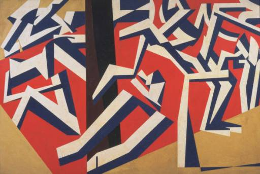David Bomberg - The Mudbath 1914