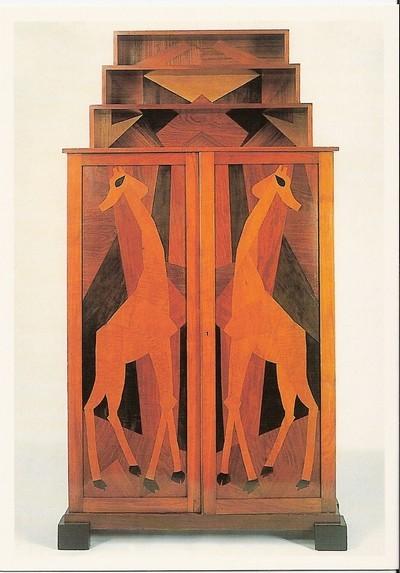 Omega cabinet - designed by Roger Fry