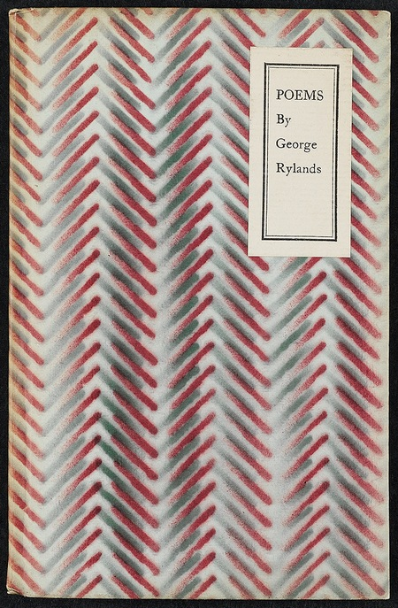 Poems by George Rylands - first edition