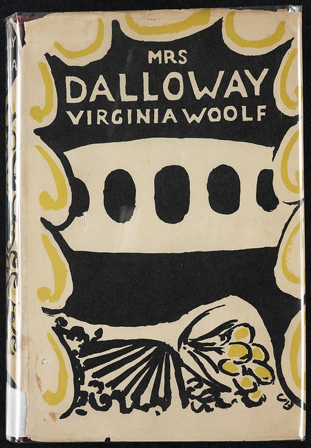 Mrs Dalloway cover - first edition