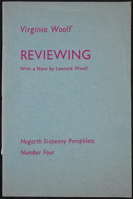 Reviewing - original pamphlet