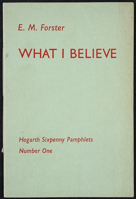 What I Believe - original pamphlet