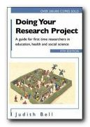 Writing Guides Doing your Research Project - book jacket