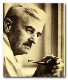 William Faulkner - portrait