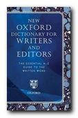 Oxford Writers Dictionary - book jacket
