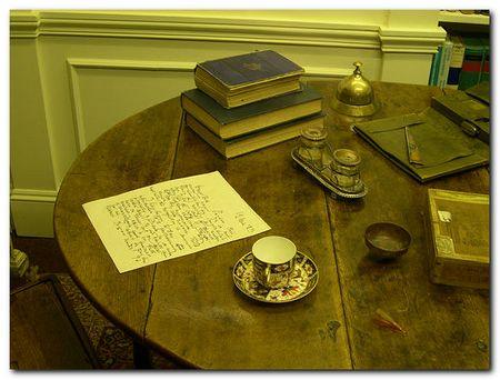 Joseph Conrad's writing table