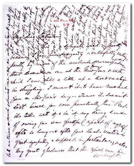 Henry James Manuscript