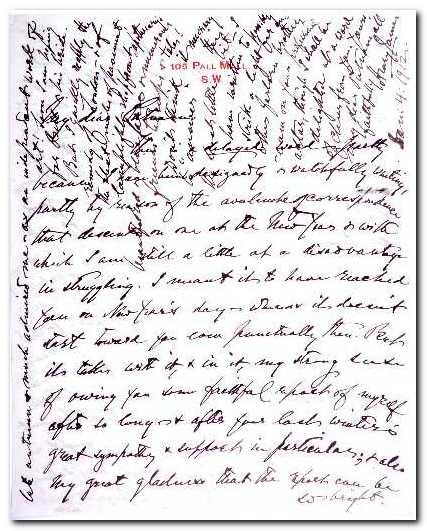 Henry James Manuscript