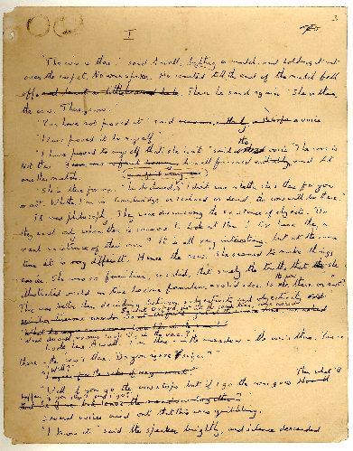 E.M.Forster - manuscript page