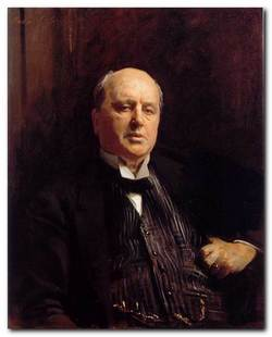 Two Countries - Henry James portrait
