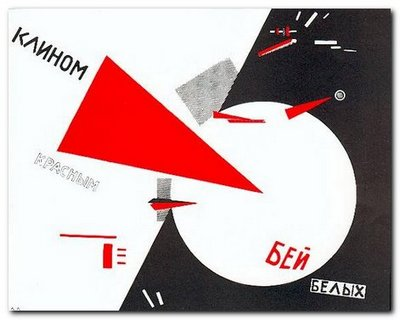 El Lissitzky: Beat the Whites with the Red Wedge