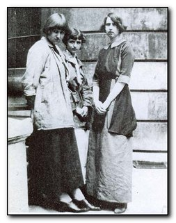 Dora Carrington, Barabara Hiles, and Dorothy Brett