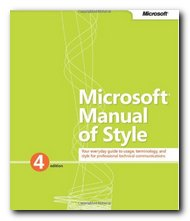 Microsoft Manual of Style