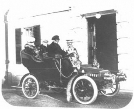 James and Wharton go Motoring
