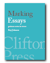 Marking Essays