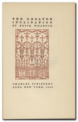 thesis on edith wharton